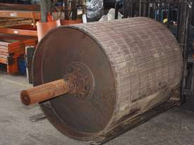 Roller conveyor mining head drum roller 1120mm - picture0' - Click to enlarge