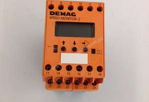 DEMAG DC2003 SPEED MONITOR RELAY 24VDC 3W