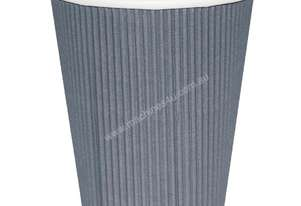 Fiesta Takeaway Coffee Cups Ripple Wall Charcoal 225ml x500