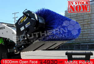 1800 mm Open Mouth Broom Sweeper for Bobcat ATTBOM