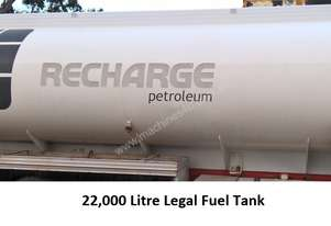 22,000 Litre Legal Fuel Tank, Aluminium, Suitable Diesel/Petrol