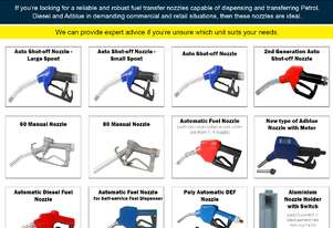 TESTED QUALITY NOZZLES. HIGHLY COMPETITIVE PRICES