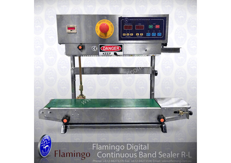 New 2019 flamingo Flamingo Digital Continuous Heat Sealer