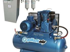 K30 Industrial Air Compressor & Refrigerated Air Dryer Package Deal 200 Litre / 7.5hp 30.8cfm / 871. - picture0' - Click to enlarge