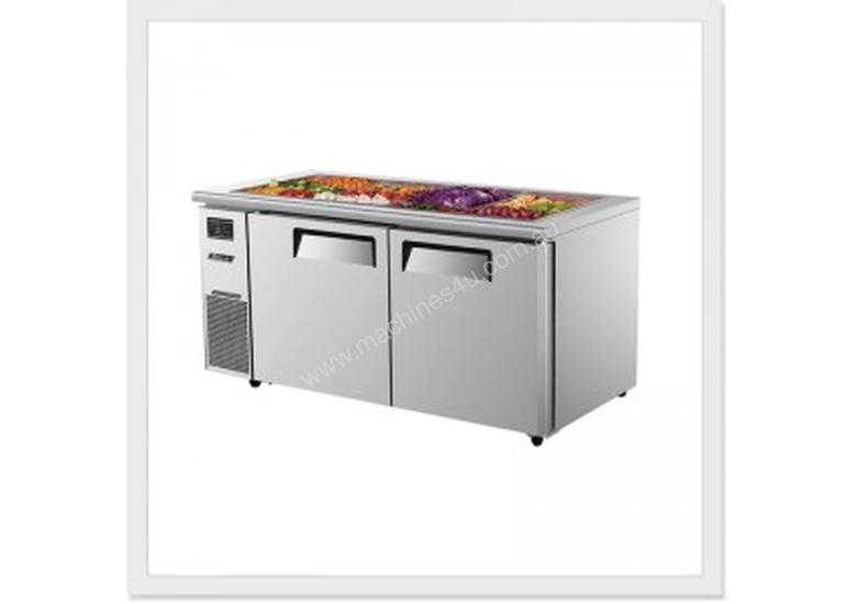 AONEMASTER TURBO AIR KSR15-2 SALAD SIDE PREP BUFFET TABLE