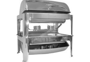 Chef Inox 54961 Stackable Roll Top Chafer Size 1/1