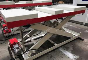 RHINO Heavy Duty Large Scissor Lift Table 3000x1000 **IN STOCK**