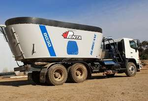 2020 PENTA 8030 TWIN SCREW MIXER ON HINO TRUCK (25.5M3)