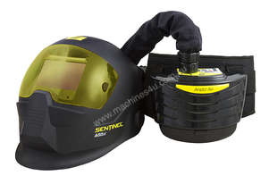 ESAB SENTINEL A50 AUTO DARKENING WELDING HELMET, with  ARISTO AIR PAPR SYSTEM