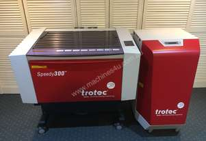Trotec Speedy 300 - CO2 Laser with Atmos Mono Extractor