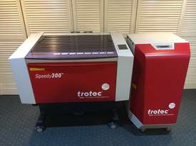 Trotec Speedy 300 - CO2 Laser with Atmos Mono Extractor - picture0' - Click to enlarge