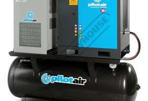PAC4-RM-D Rotary Screw Air Compressor 486L/Min. 17.1CFM @ 10 Bar Includes Integrated Air Dryer