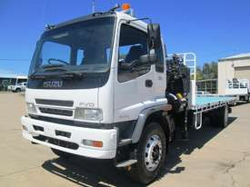 Isuzu FVD950 Crane Truck Truck - picture0' - Click to enlarge