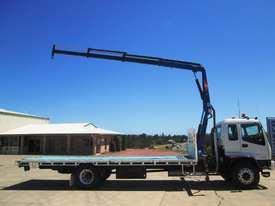 Isuzu FVD950 Crane Truck Truck - picture4' - Click to enlarge