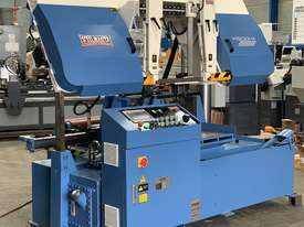 520mm Heavy Duty Twin Column Bandsaw  - Full Auto - NC Control & Bundle Clamping - picture0' - Click to enlarge