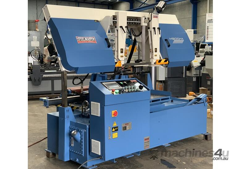 520mm Heavy Duty Twin Column Bandsaw  - Full Auto - NC Control & Bundle Clamping