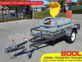 Diesel Fuel Trailer 800L Lockable with 12V pump TFPOLYDT  - picture0' - Click to enlarge