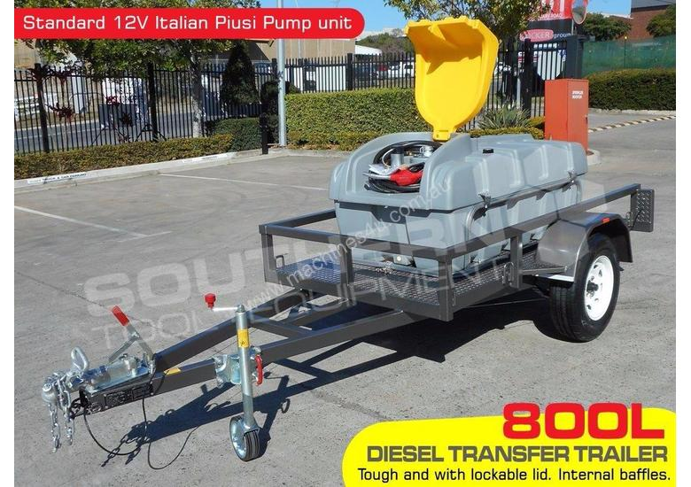 Diesel Fuel Trailer 800L Lockable with 12V pump TFPOLYDT