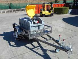 Diesel Fuel Trailer 800L Lockable with 12V pump TFPOLYDT  - picture1' - Click to enlarge