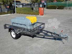 Diesel Fuel Trailer 800L Lockable with 12V pump TFPOLYDT  - picture2' - Click to enlarge