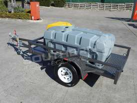 Diesel Fuel Trailer 800L Lockable with 12V pump TFPOLYDT  - picture3' - Click to enlarge