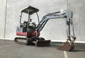 TAKEUCHI TB016 1.6T HOURS 2612 MINI EXCAVATOR S/N-534