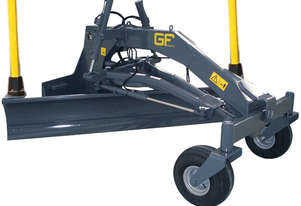 NEW GF GORDINI GRADER BLADE SUIT SKID STEER WITH AUTO LASER LEVEL OPTION