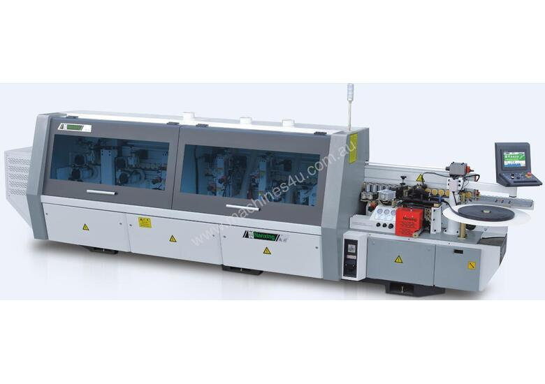 NANXING Touch Screen 16-20-24m/min 3 speed  Auto Edgebander NB4J with extra Corner Rounding Machine