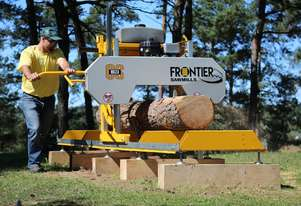 FRONTIER OS23 SAWMILL WITH 7½HP (250CC) BRIGGS (RECOIL START) ENGINE