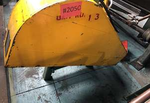 AP Lever Sheetmetal Rolls 2440mm Electric 3 Phase Plate Curving Roller