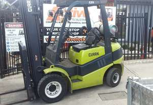 Clark Forklift 2.5 Ton 5200mm Lift Height Container Mast 2011 Model