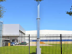 Solar CCTV towers - picture0' - Click to enlarge