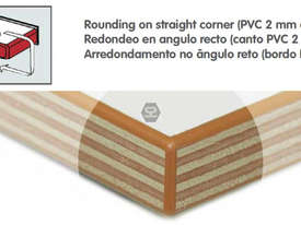 Casadei Industria CRH Corner Rounding Unit - Made in Italy - picture1' - Click to enlarge