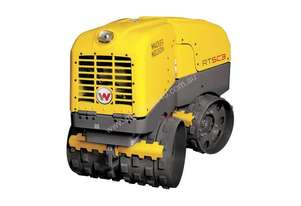 New Wacker Neuson RTX-SC3 Remote Trench Roller