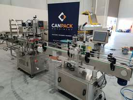 Bottling filling/capping/labelling line - picture0' - Click to enlarge