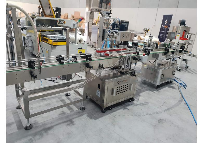 Bottling filling/capping/labelling line