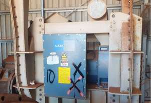 300 kw 400 hp 2 pole 2970 rpm 6600 volt Foot Mount 355 frame ABB AC Electric Motor