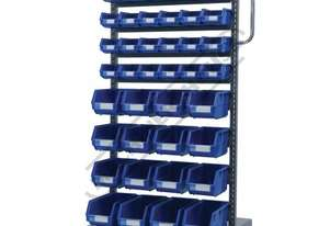 MSS-40B Mobile Storage Bucket Systems Package Deal 690 x 560 x 1460mm 40 x Assorted Bucket Sizes