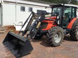 Same Silver 100.4 tractor & loader - picture0' - Click to enlarge