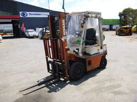 1992 Nissan H01A18U 1.5 Tonne Container Mast LPG Forklift - picture0' - Click to enlarge