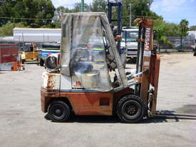 1992 Nissan H01A18U 1.5 Tonne Container Mast LPG Forklift - picture2' - Click to enlarge