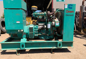 Onan 55 KVA sled mounted generator Generator Power Unit