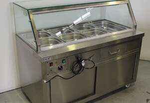 FED PG150FE-YG Hot Food Bar With Trolley