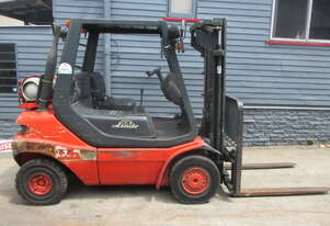 Linde 2.5 ton LPG Cheap Used Forklift  #CS250