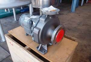 Centrifugal Pump (Stainless Steel), IN: 80mm Dia, OUT: 50mm Dia