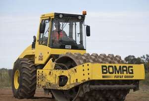 Bomag BW213PDH Pad Foot For Hire