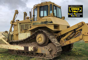 1989 Cat D7H Dozer, E.M.U.S MS692