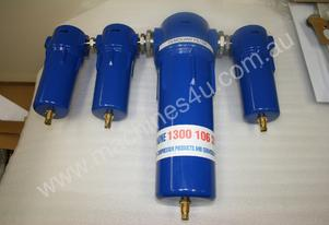 Compressed Air Filter Set with Desiccant Dryer