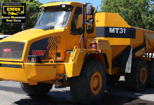 2 x MT30 Moxy all terrain tipper trucks, E.M.U.S MS718