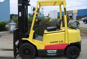 ** RENT NOW **    HYSTER H2.50DX LPG Forklift with 6 mtr lift